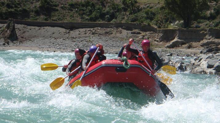 Rafting-Hanmer Springs-Waiau Gorge Rafting & Jet Boat Ride in Hamner Springs-1