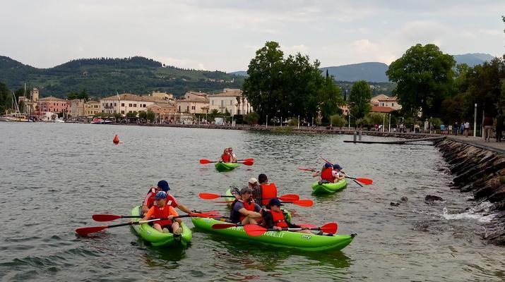 Kayaking-Lake Garda-Beginner Canoeing Trip to Bardolino in Lake Garda-2