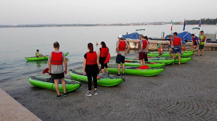 Kayaking-Lake Garda-Beginner Canoeing Trip to Bardolino in Lake Garda-1