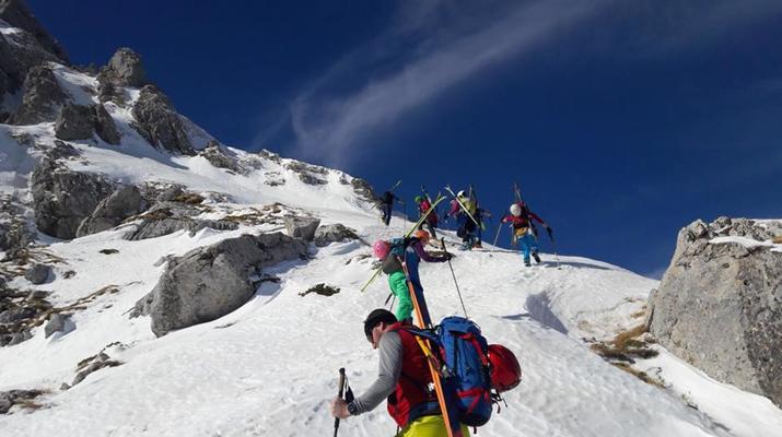 Ski touring-Lake Garda-Ski Mountaineering Courses from Lake Garda-5