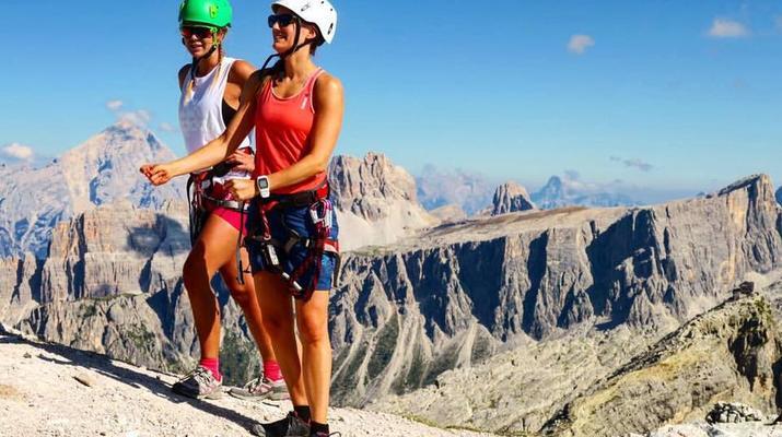 Via Ferrata-Cortina d'Ampezzo-Via Ferrata Col dei Bos dans les Dolomites près de Cortina d'Ampezzo-1
