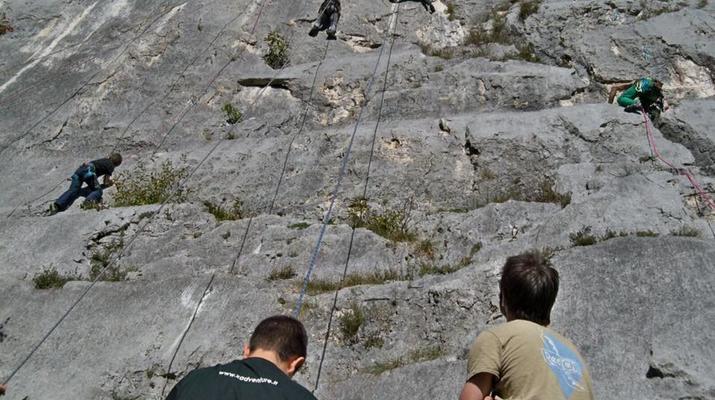 Rock climbing-Lake Garda-Private Group Rock Climbing Excursion near Lake Garda-6
