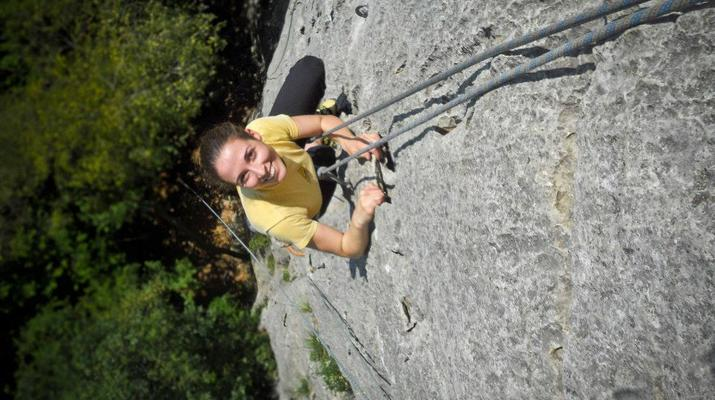 Rock climbing-Lake Garda-Private Group Rock Climbing Excursion near Lake Garda-3