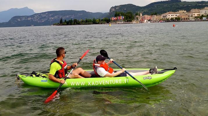 Kayaking-Lake Garda-Beginner Canoeing Trip to Punta San Vigilio in Lake Garda-1