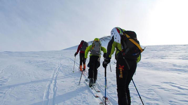Ski touring-Lake Garda-Sunset Ski Mountaineering on Mount Baldo near Lake Garda-3