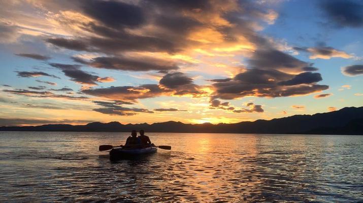 Kayaking-Lake Garda-Sunset Canoeing Trip in Lake Garda-3