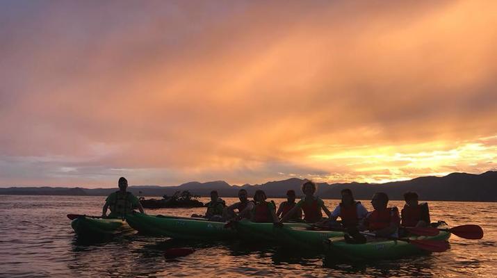 Kayaking-Lake Garda-Sunset Canoeing Trip in Lake Garda-4