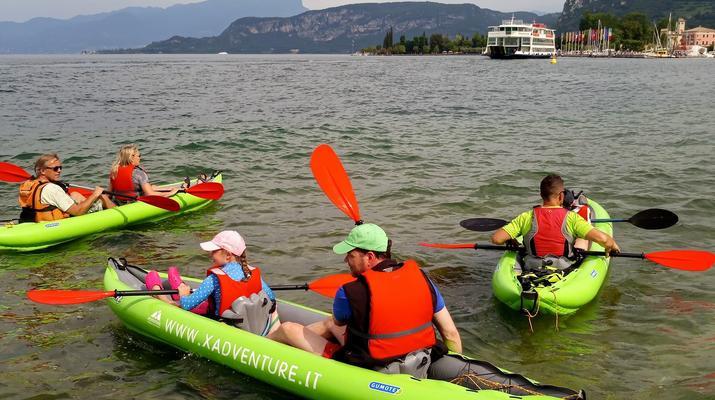 Kayaking-Lake Garda-Beginner Canoeing Trip to Bardolino in Lake Garda-4