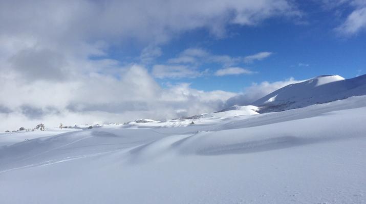 Ski touring-Lake Garda-Guided Ski Touring on Mount Baldo near Lake Garda-3
