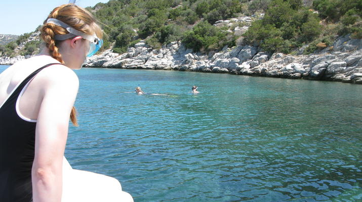Snorkeling-Athens-Snorkeling boat excursions in Nea Makri, Athens-7