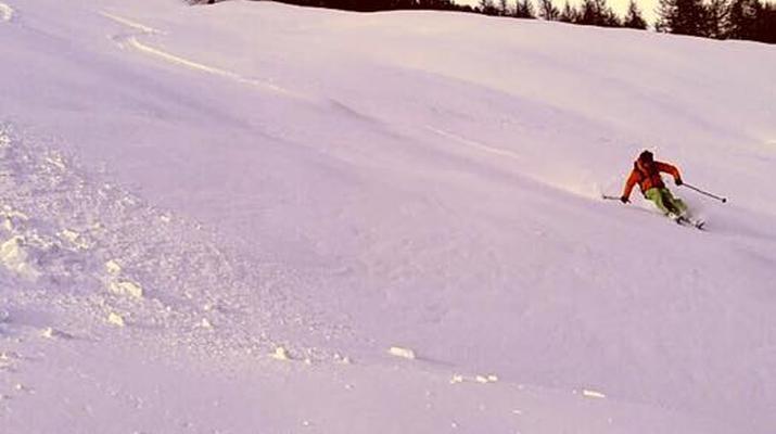 Ski touring-Lake Garda-Sunset Ski Mountaineering on Mount Baldo near Lake Garda-5
