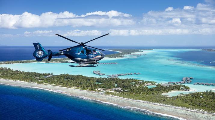 Helicoptère-Bora Bora-Vol panoramique de Bora Bora en hélicoptère-2