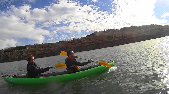 Kayak de mer-Deauville - Trouville-Randonnées Kayak de Mer le long des falaises de Deauville-Trouville-5