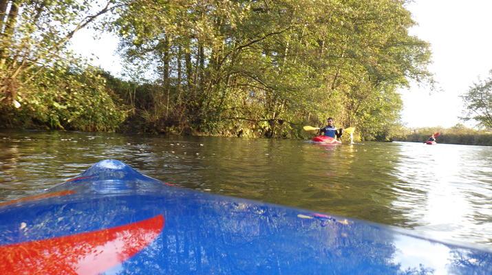 Canoë-kayak-Deauville - Trouville-Randonnée en Kayak sur la Touques en Normandie-5