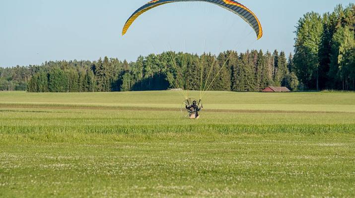 Parapente-Sala-Vol biplace en parapente à Sala, près de Västerås-6