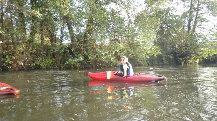 Canoë-kayak-Deauville - Trouville-Randonnée en Kayak sur la Touques en Normandie-4