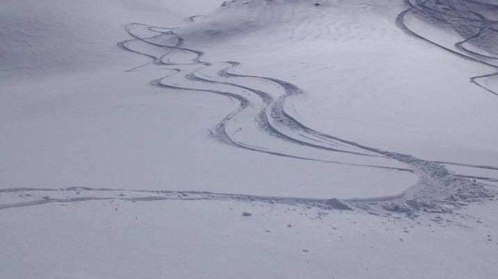 Heliesquí-Serre Chevalier-Excursión de medio día de heliesquí desde Serre Chevalier-1