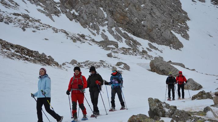 Snowshoeing-Andorra-Snowshoeing near Canillo, Andorra-8