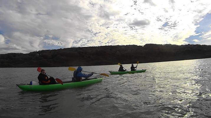 Kayak de mer-Deauville - Trouville-Randonnées Kayak de Mer le long des falaises de Deauville-Trouville-1