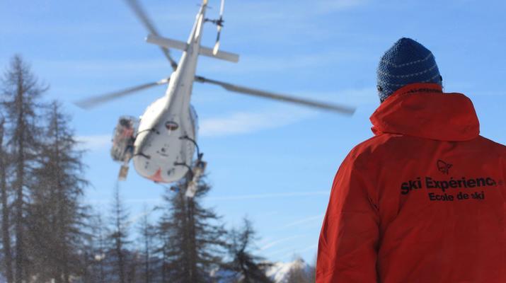 Heliesquí-Serre Chevalier-Excursión de medio día de heliesquí desde Serre Chevalier-2