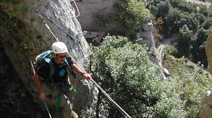 Via Ferrata-Saint-Lary-Soulan-Parcours Via Ferrata dans les Pyrénées Centrales depuis Saint-Lary-3