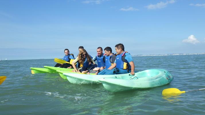 Kayak de mer-Deauville - Trouville-Randonnées Kayak de Mer le long des falaises de Deauville-Trouville-4
