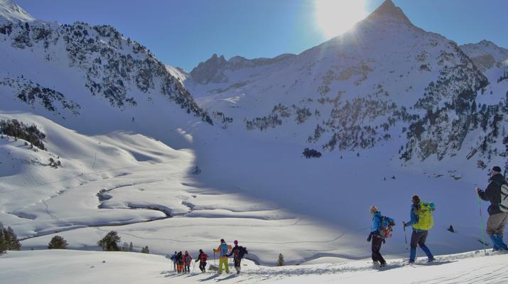 Snowshoeing-Andorra-Snowshoeing near Canillo, Andorra-2