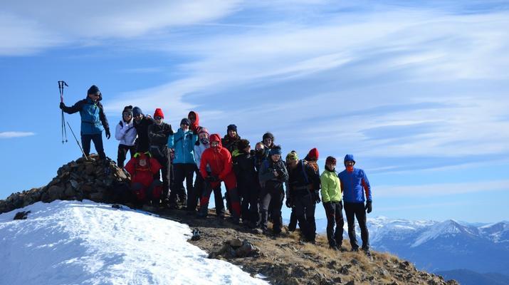 Snowshoeing-Andorra-Snowshoeing near Canillo, Andorra-1