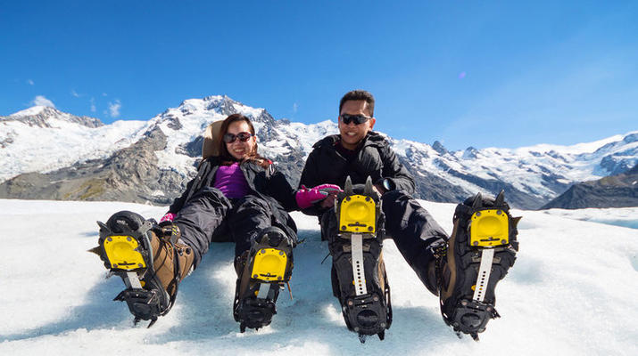 Glacier hiking-Aoraki / Mount Cook-Heli Hike on Tasman Glacier-6