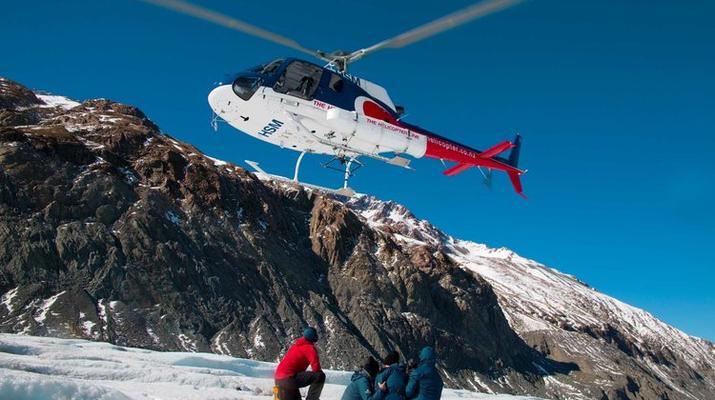 Glacier hiking-Aoraki / Mount Cook-Heli Hike on Tasman Glacier-2