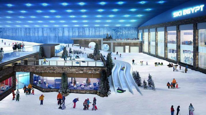 Experiencias en la nieve-Cairo-Experiencia de esquí y nieve en Ski Egypt en El Cairo-1