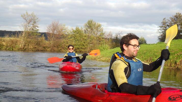 Canoë-kayak-Deauville - Trouville-Randonnée en Kayak sur la Touques en Normandie-3