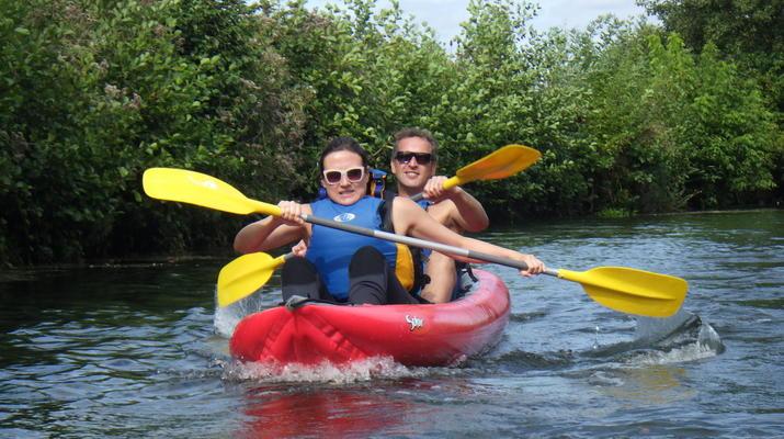 Canoë-kayak-Deauville - Trouville-Randonnée en Kayak sur la Touques en Normandie-6