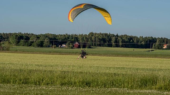 Parapente-Sala-Vol biplace en parapente à Sala, près de Västerås-2