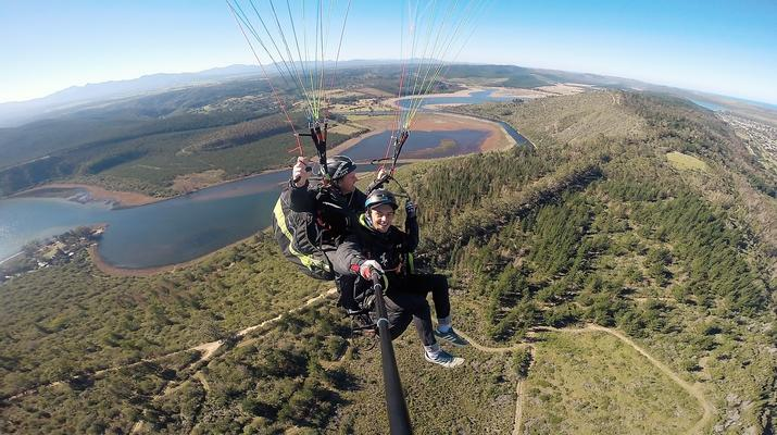 Paragliding-Wilderness National Park-Tandem Paragliding flight over Wilderness-1