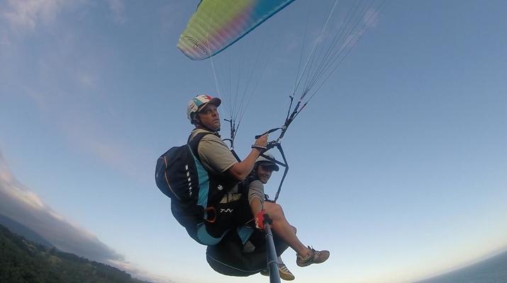 Paragliding-Wilderness National Park-Tandem Paragliding flight over Wilderness-6