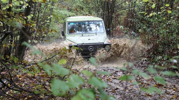 4x4-Karlovac-Excursion en Jeep tout-terrain au départ de Kamensko et découverte de l'Antiquité romaine-3