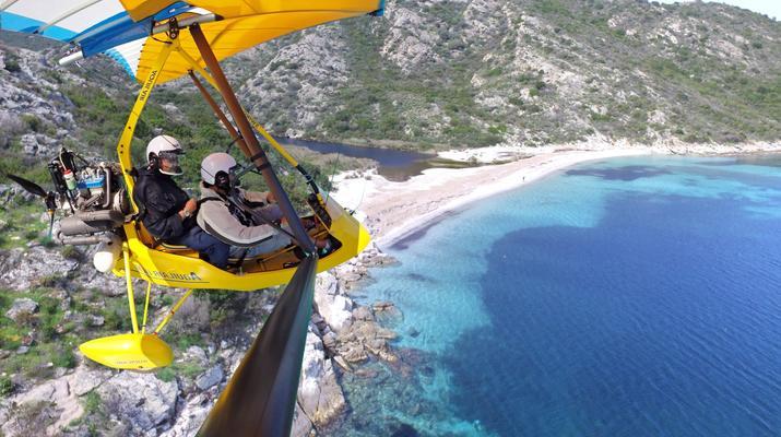 U.L.M-Bastia-Vol en ULM en Corse près de Bastia-2