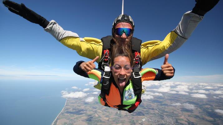 Skydiving-Le Havre-Tandem skydiving in Le Havre, Normandy-3