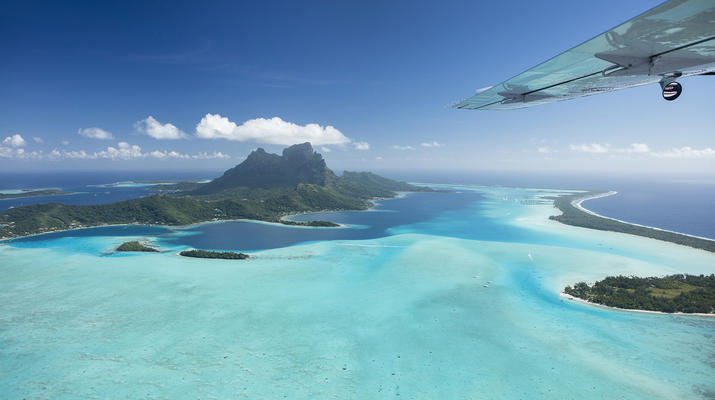 Vols Panoramiques-Bora Bora-Vol panoramique en avion au dessus de Bora Bora et Tupai-2