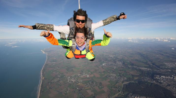 Skydiving-Le Havre-Tandem skydiving in Le Havre, Normandy-5