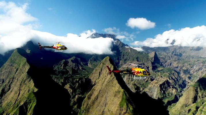 Helicoptère-Saint-Pierre-Survol de l'Île de La Réunion en Hélicoptère-3