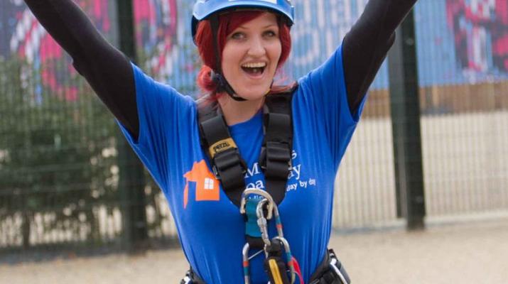 Rápel-London-Descenso en rappel de ArcelorMittal Orbit en el Parque Olímpico de Londres-5