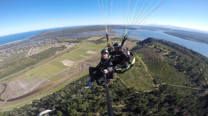 Paragliding-Wilderness National Park-Tandem Paragliding flight over Wilderness-2