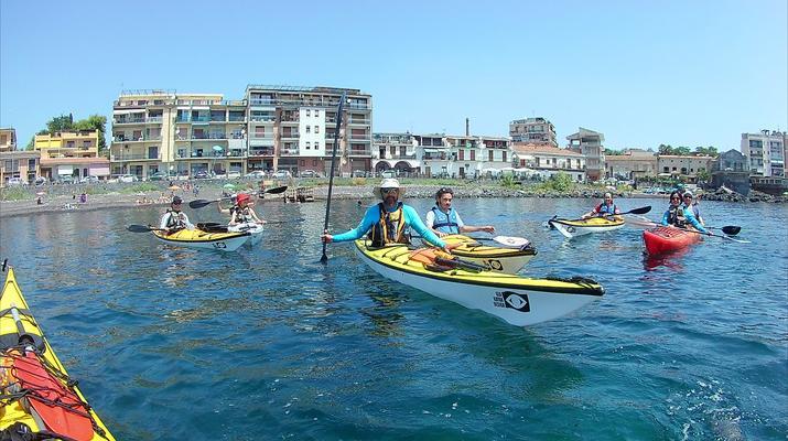 Sea Kayaking-Taormina-Guided Kayak Tour along the Taormina Coast-5