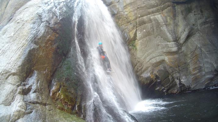 Canyoning-Pyrénées Orientales-Canyoning in the Gorges du Llech, near Prades-1