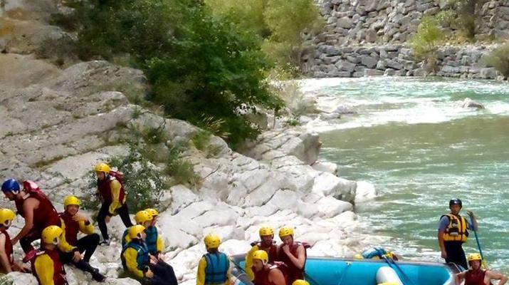 Rafting-Gorges du Verdon-Rafting dans les Gorges du Verdon-2
