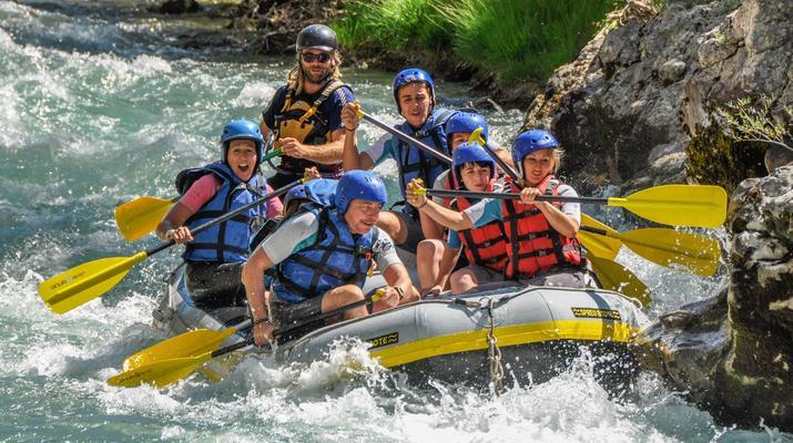 Rafting-Gorges du Verdon-Rafting dans les Gorges du Verdon-1