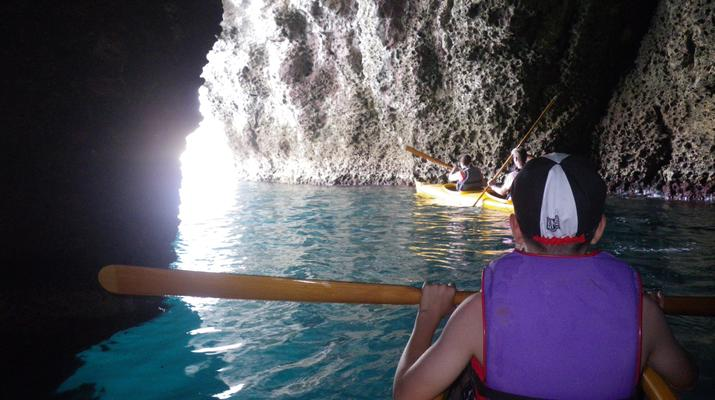 Sea Kayaking-Taormina-Guided Kayak Tour along the Taormina Coast-4