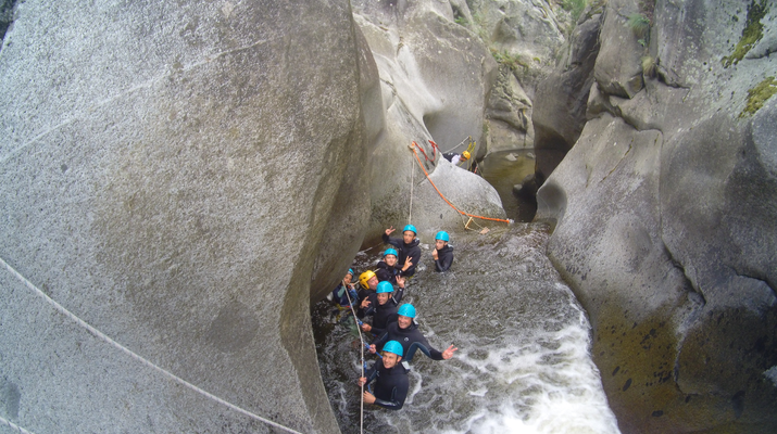 Canyoning-Pyrénées Orientales-Canyoning in Molitg les Bains, Pyrénées Orientales-4